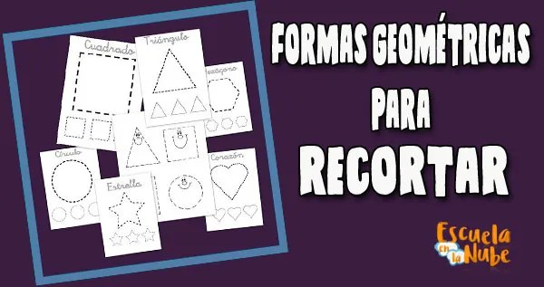formas geométricas para recortar, Figuras geométricas para recortar