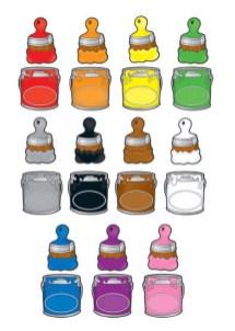 fichas para repasar los colores 037