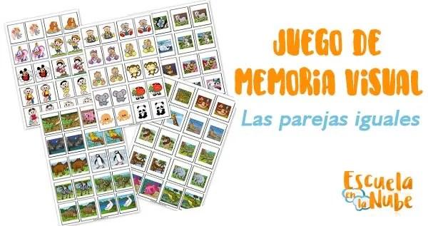 juego de memoria visual