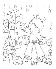 dibujos colorear otoño 07