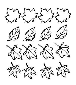 dibujos colorear otoño 37