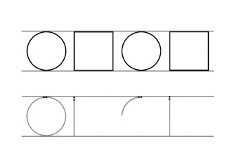 grafomotricidad figuras geometricas 10