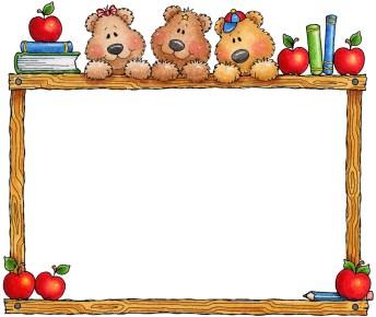 marcos y bordes escolares 16