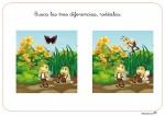 Estimular la atención: Busca las diferencias