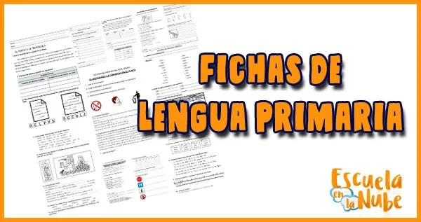 fichas de lengua primaria