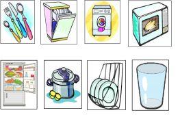 objetos de la cocina