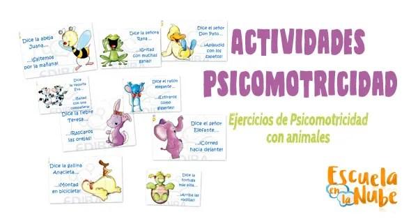 actividades psicomotricidad, ejercicios psicomotricidad