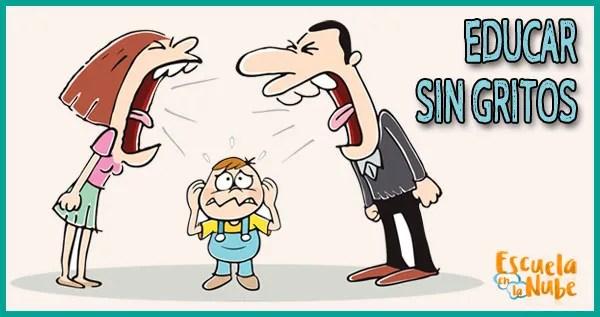 educar sin gritos, evitar gritar a tus hijos