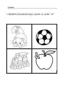 Letra A 09