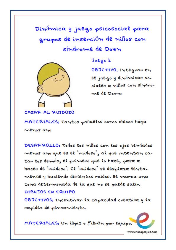 Fichas- Actividades para niños con Síndrome de Down_001