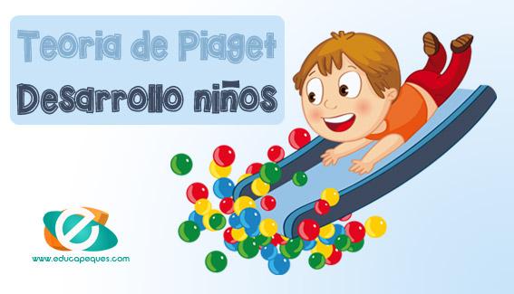 Teoría de Piaget: Desarrollo del niño desde su nacimiento hasta la adolescencia