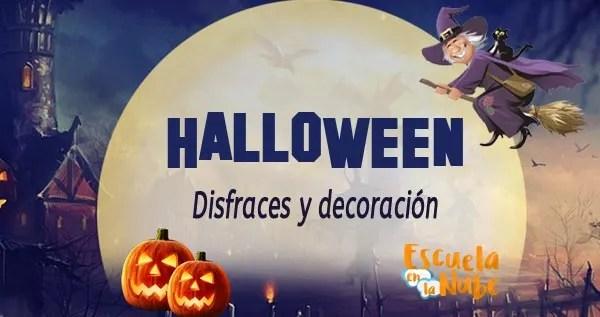 Halloween decoración y disfraces