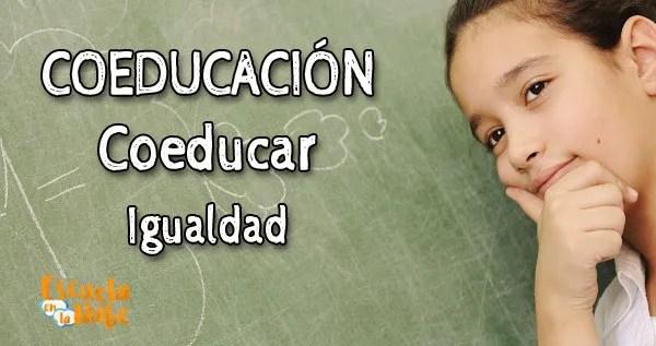 coeducación, coeducar, coeducación en la escuela