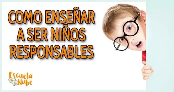 responsabilidad infantil, niños responsables, responsabilidades de los niños