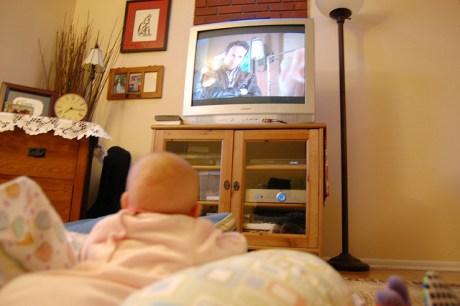 La televisión y los bebés