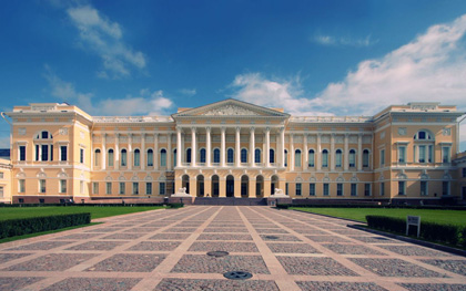 Il museo russo a San Pietroburgo