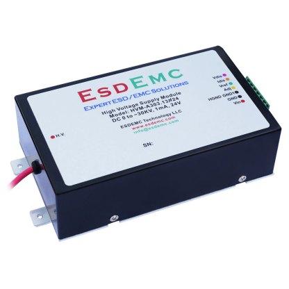 30kV Adjustable Precision High Voltage DC Supply Module