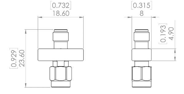 TVS-15G Transient Voltage Suppressor, DC - 15 GHz