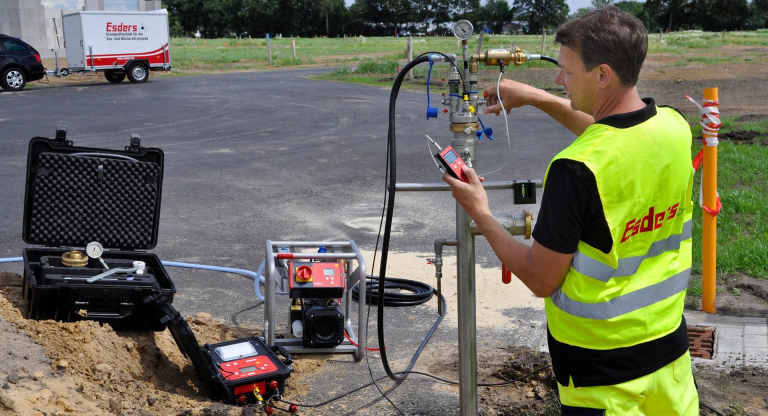 The Basics Of Pressure Tests On Water Pipelines German