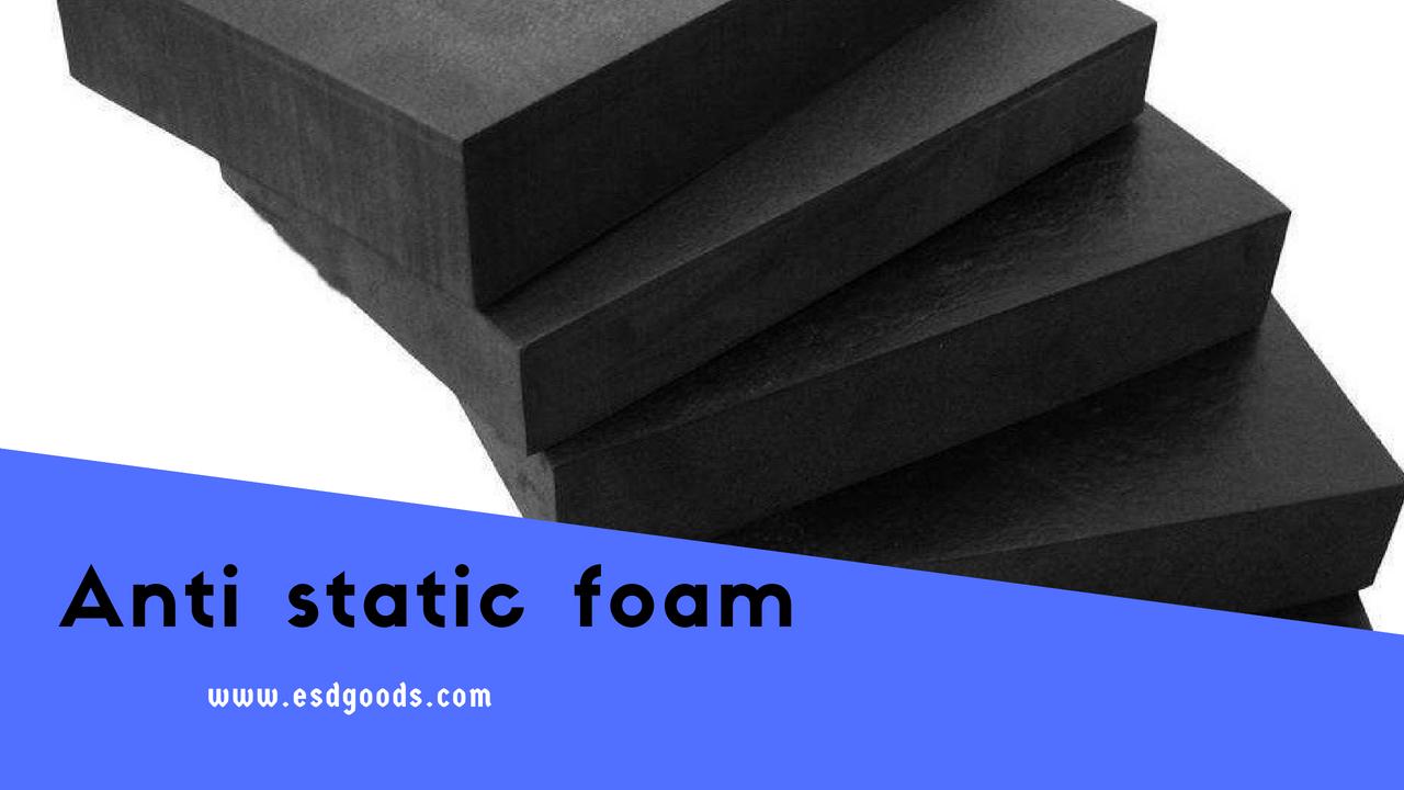 ESD foam black roll & sheets | anti static foam block