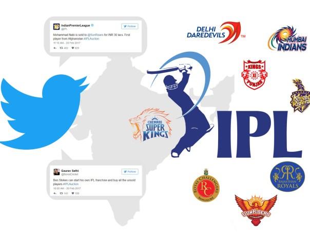 Impact of twitter in IPL