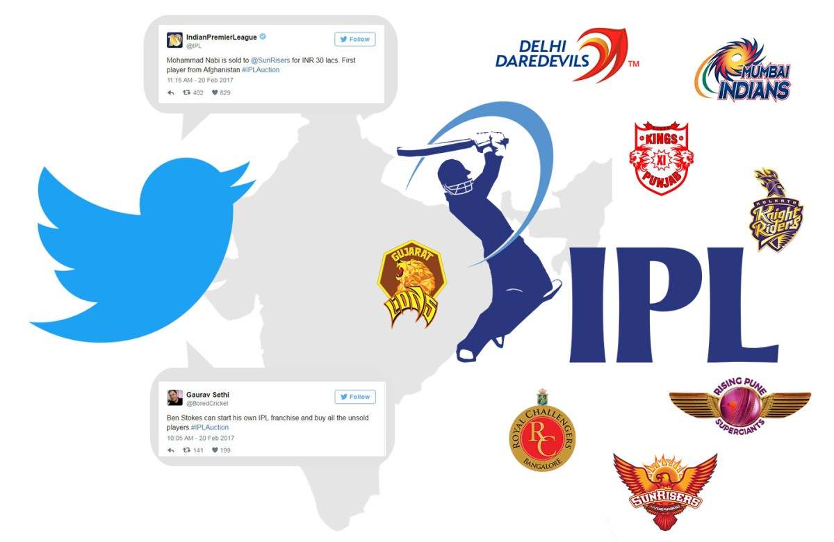 twitters influence on ipl