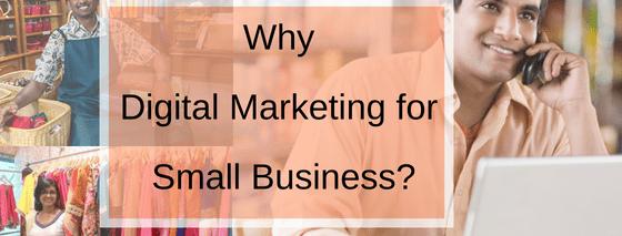 Digital marketing for small business marketing
