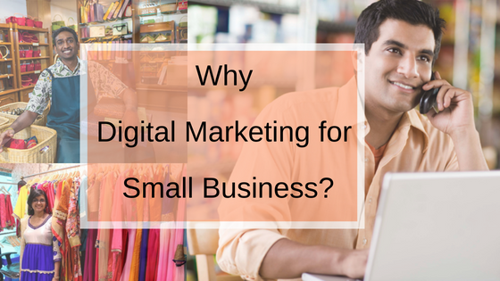 Digital marketing for small business marketing