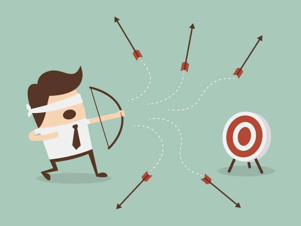 don't miss the bullseye