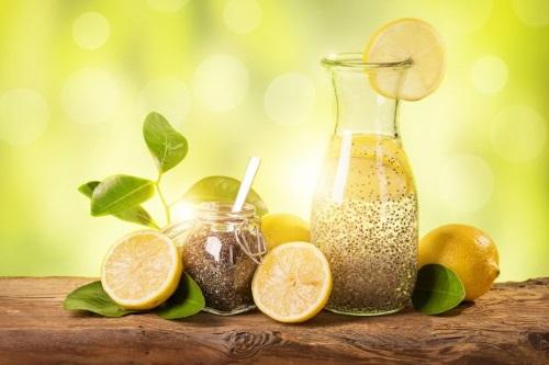 limone e semi di chia
