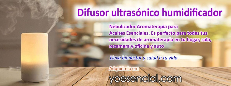 humidificador Nebulizador Aromaterapia para Aceites Esenciales de Aire