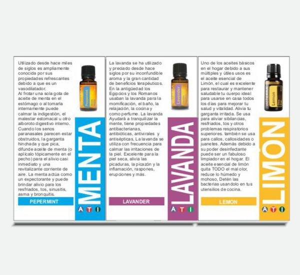 tarjeta aceites esenciales