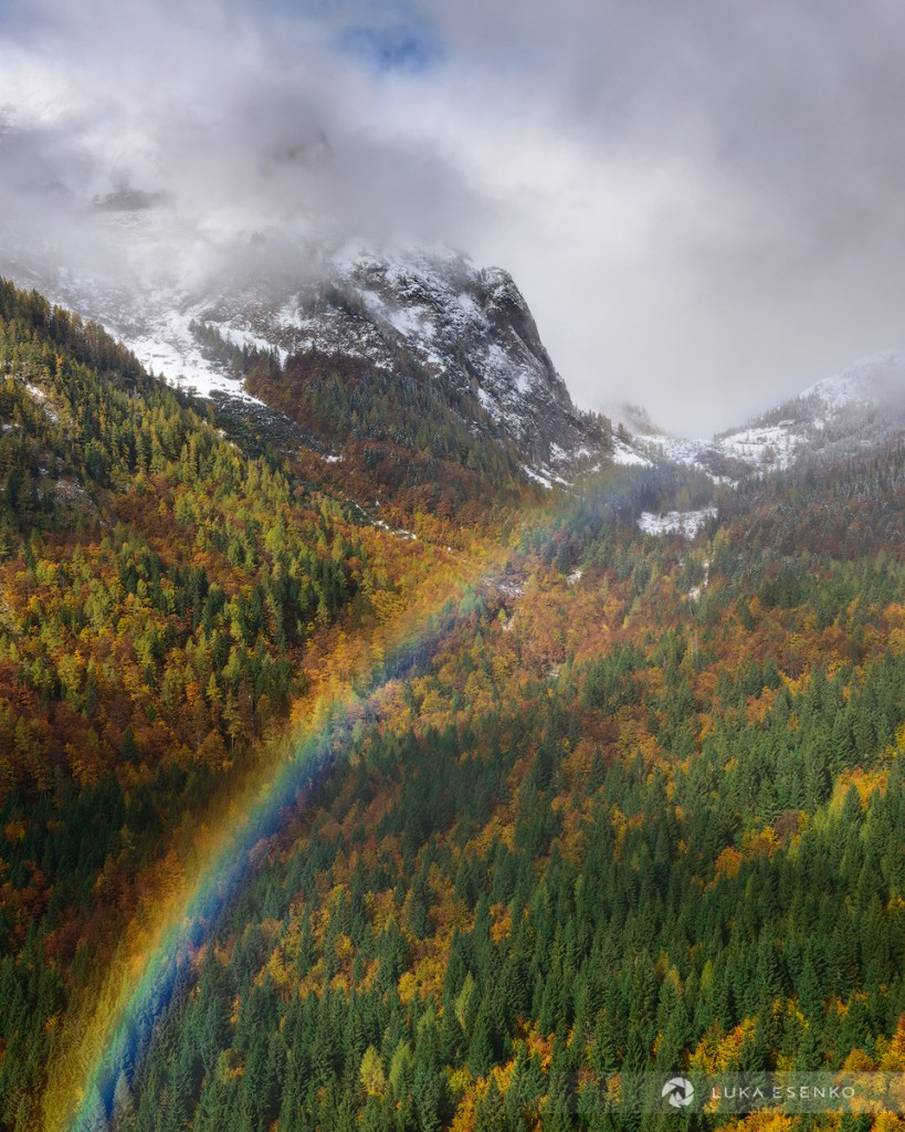 Julian Alps in Autumn