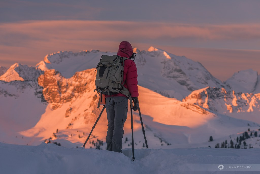 Winter in Dolomites photography workshop