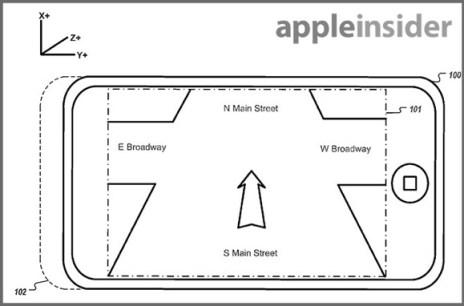 Patente Apple navegación panorámica 2