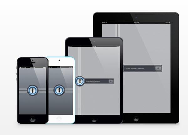 1Password dispositivos