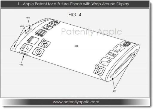 Patente Apple display