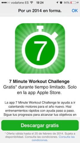 7 minuto workout challenge 1