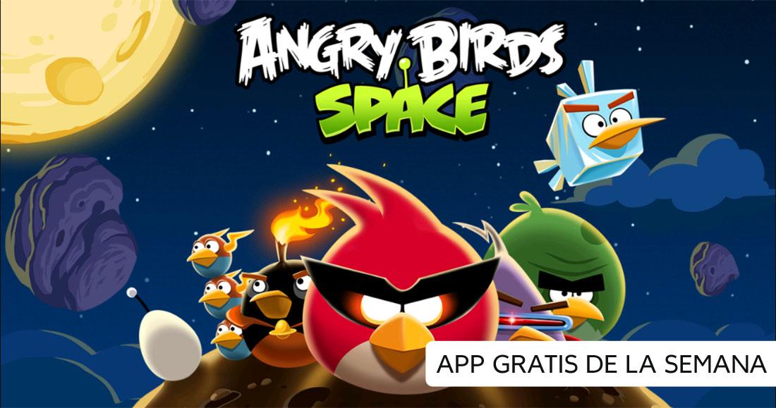 Angry Birds Space es la App gratis de la semana