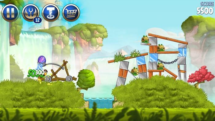 Angry Birds Star Wars iOS 2