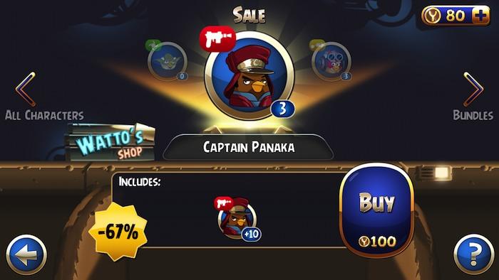 Angry Birds Star Wars iOS 4