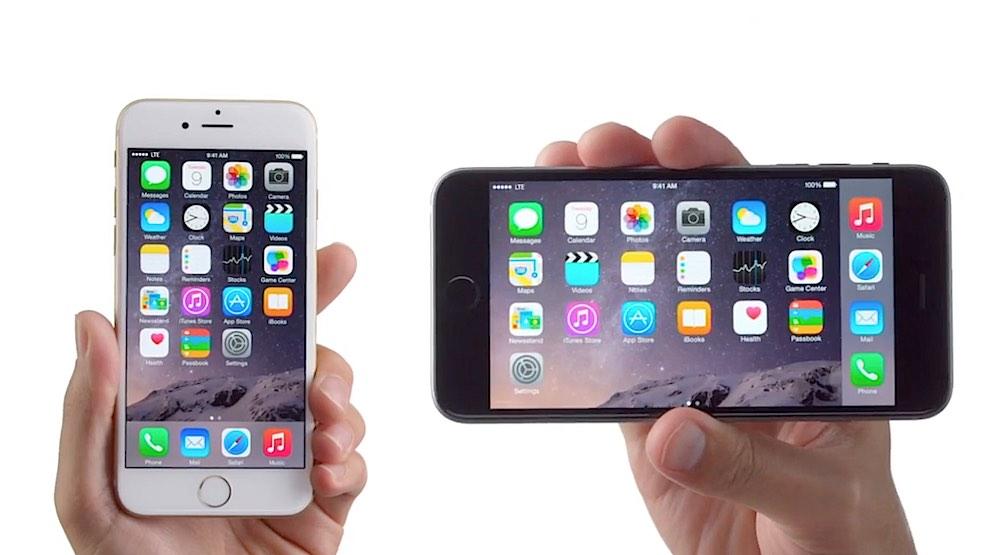Anuncios iPhone 6