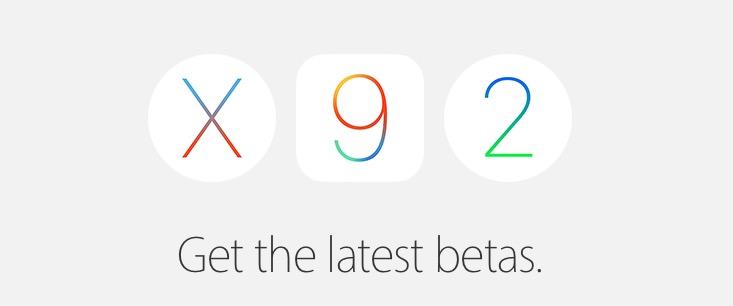 Apple betas - sexta beta de iOS 9.3, watchOS 2.2 y tvOS 9.2
