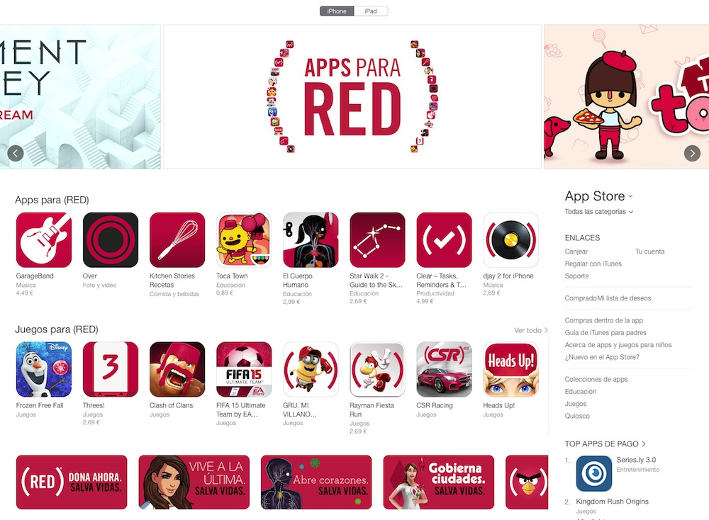Apps para RED