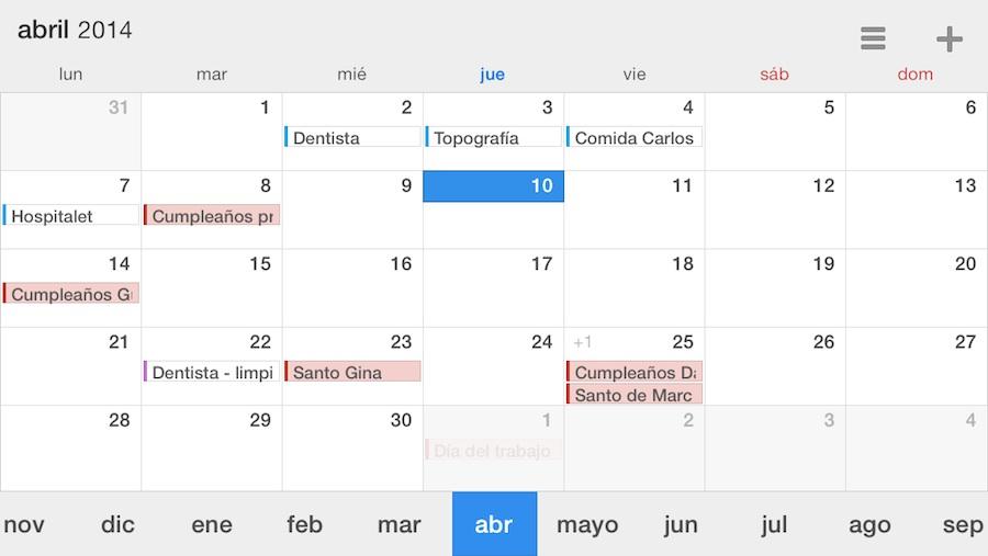 Calendars 5 oferta