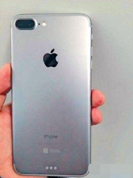 Foto iPhone 7 real - doble cámara - Smart connector