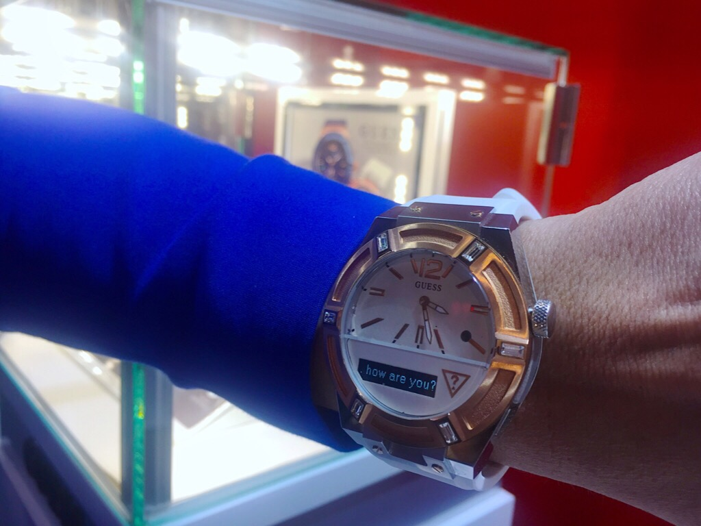 Relojes Guess MWC 15