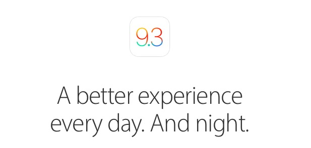iOS 9.3