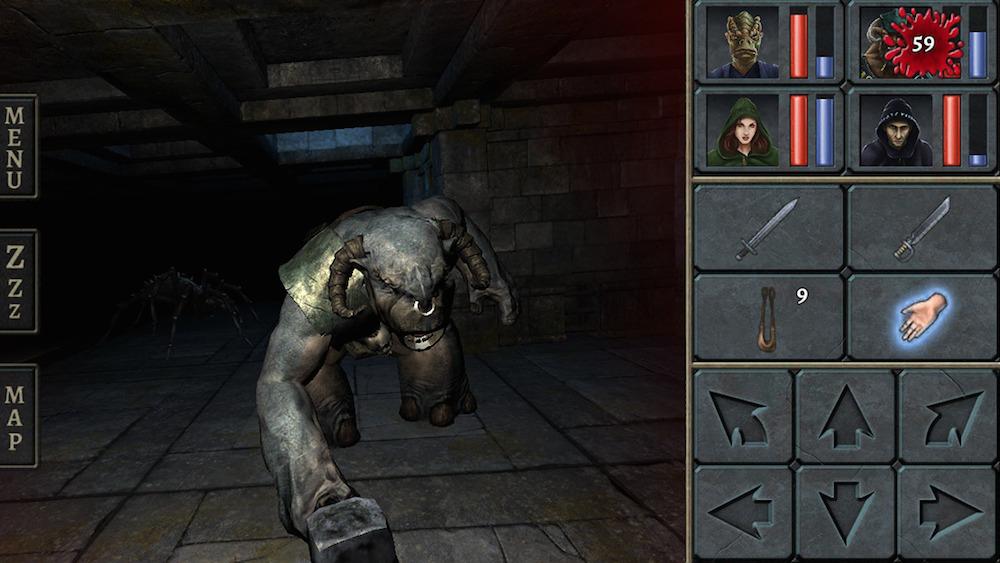 Legend of Grimrock rol