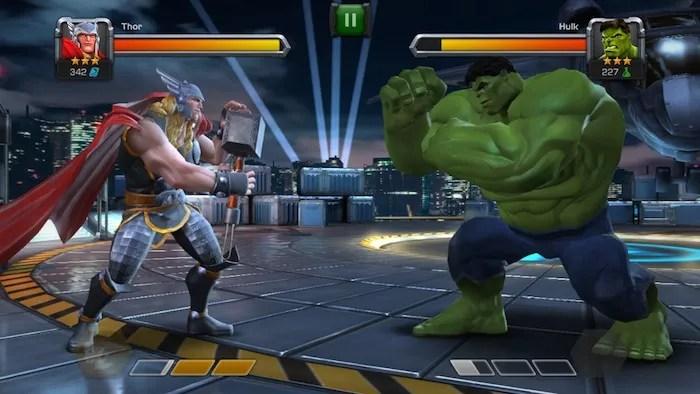 Marvel Batalla de heroes 1